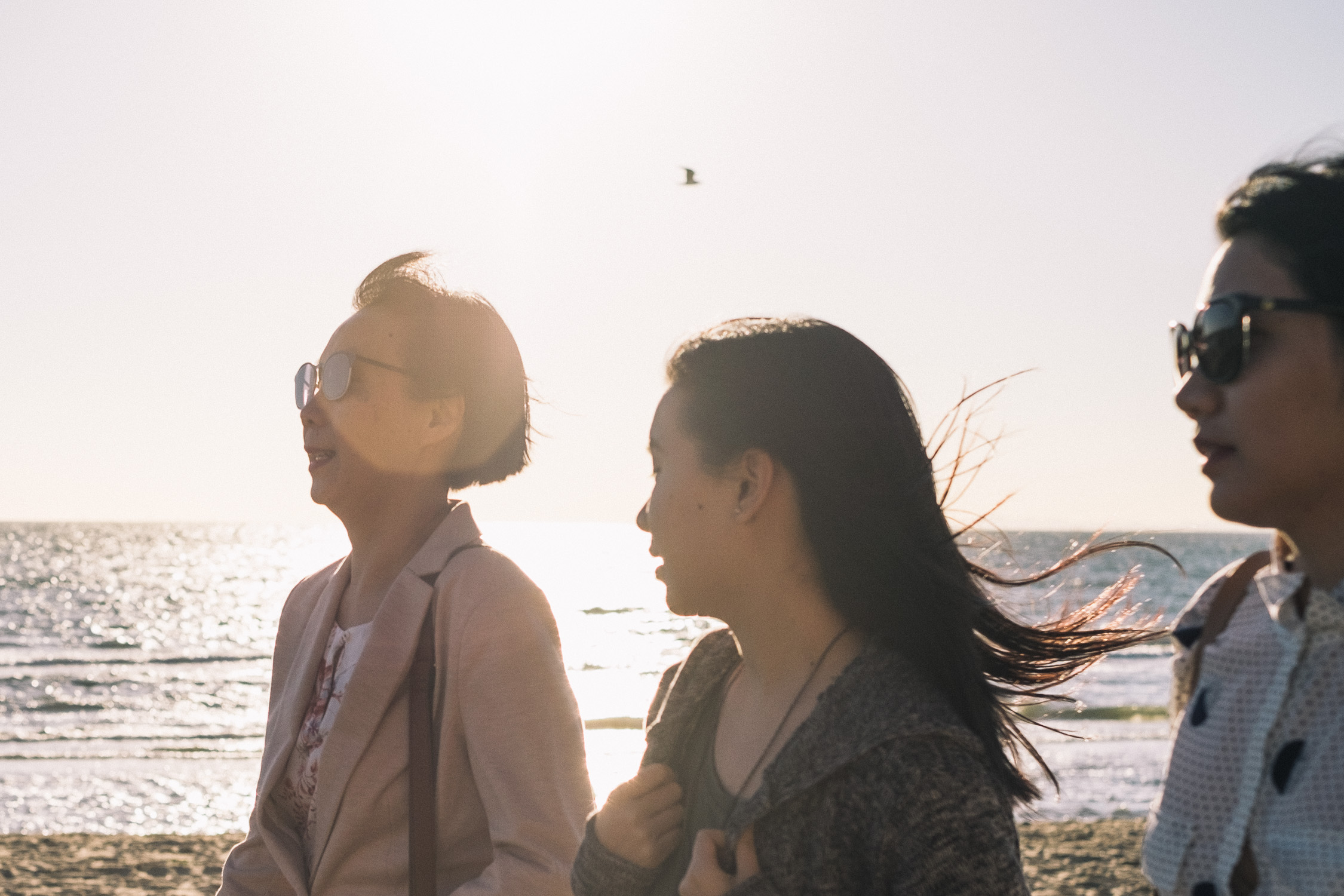Carina Sze Lau - Life Session - mum and daughters in St Kilda Melbourne
